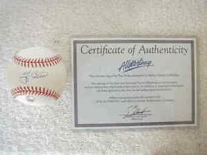 YOGI BERRA SIGNED BASEBALL & Certificate of Authenticity
