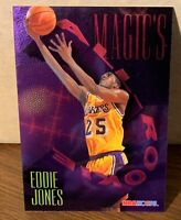 Eddie Jones 1994-95 Hoops Magic's All-Rookies Foil-Tech insert #FAR8 LAKERS  NBA