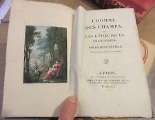 DELILLE L'HOMME DES CHAMPS GEORGIQUES 1805 13 GRAVURES COLORIEES DE FRANZ CATEL