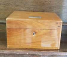 More details for wooden alfred dunhill london lined humidor cigar box