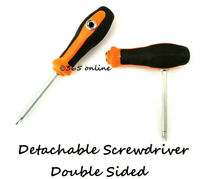 Screwdriver Detachable  Double Sided Tool.  Phillips & Flat Headed All In One