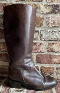 Van Dal  Brown Leather Boots. Size UK 4.5 37.5