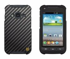 For Samsung Galaxy Rugby Pro i547 Protector Case Design Cover Carbon Fiber