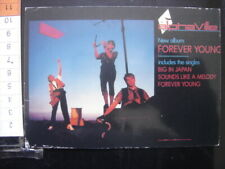 CP Carte Postale Postcard plastifiee MUSIQUE Music ALPHA VILLE