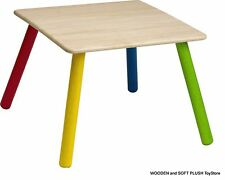 *NEW children toddler's furniture sturdy wooden TABLE for Kid's room Cubby House