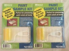 Whizz Set Of 2 Paint Sample Kits For Previewing Colors At Home