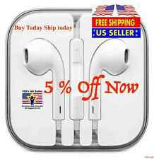 Brand New EarPods Earphones W/Remote & Mic For Original iPhone 5 5S 6 6S