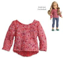 """American Girl TRULY ME MIXED KNIT SWEATER IN BAG 18"""" Dolls TM Fall Winter NEW"""