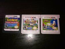 Sonic The Hedgehog 3Ds Mega Bundle