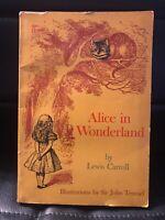 Alice In Wonderland by Lewis Carroll Sir John Tenniel 1966 Paperback Scholastic