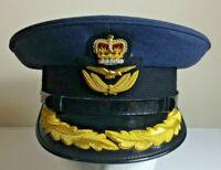 BRITISH RAF ROYAL AIR FORCE GROUP CAPTAINS OFFICERS PEAKED CAP