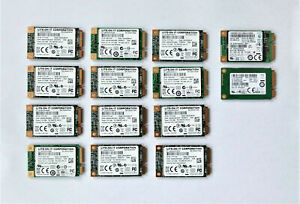 (14x) 32GB mSATA SSD included (pulled drive)