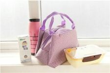 Canvas Tupperware Insulated Lunch Bags