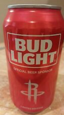 2017 NBA Houston Rockets Limited Edition Bud Light Can - Rare