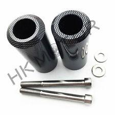 Carbon Fiber Extended Frame Sliders Crash Protectors for Honda CBR 600 F3 91-98