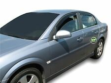 DOP25352 Wind Deflectors VAUXHALL VECTRA C saloon 4 door 2002-08 4pc HEKO TINTED