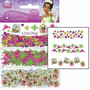Tiana Birthday Confetti Bag Filler Princess And The Frog Decorations Party Favor