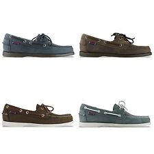 Zapatos informales de hombre en color principal negro de ante