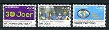 Luxembourg 2017 MNH Alzheimer 51 International Fieldgen Schools 3v Set Stamps