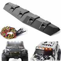 GRC Front Top Cover 3V LED Light For TRAXXAS TRX-4 TACTICAL UNIT RC Car GAX0086D