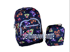 """Five Nights at Freddy's All Over Print 16"""" Backpack & LunchBag SET- NEW"""
