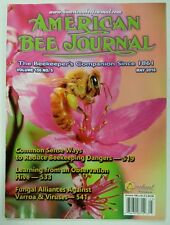 American Bee Journal Reduce Dangers Observation Hive May 2016 FREE SHIPPING JB