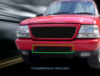 AAL 1998 1999 2000 Ford Ranger Cutout Upper POLISHED Billet Grille Insert