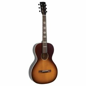 Recording King RPH-P2-TS Dirty30s Cross Country Parlor Acoustic Guitar, Sunburst