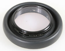 48MM RUBBER LENS HOOD WITH SKY 1A FILTER