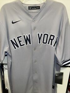 NY Yankees Nike MLB Players Choice Authentic Giancarlo Stanton Jersey SIZE Large