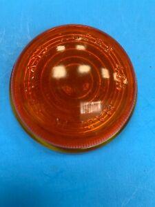 NOS NEW LUCAS 573266 AUSTIN HEALEY ROVER MORRIS AMBER GLASS LENS L488 LAMP