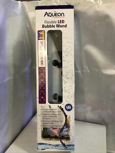 Aqueon Multi-Color Flexible LED Bubble Wand Aquarium Light, 14-Inch