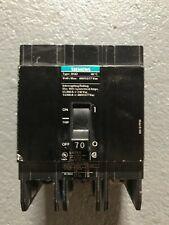 siemens 277 volt triple breaker 70 amp