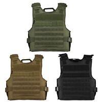 NcSTAR Plate Carrier Tactical Police Military MOLLE Adjustable Vest CVPCVEP2984