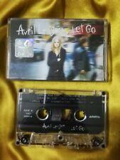 AVRIL LAVIGNE LET GO Audio Cassette 2002 Album Arista Records, Inc. I'm With You