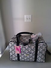 NWT BETSEY JOHNSON Quilted Unicorn Cat Rainbow WEEKENDER BAG NEW