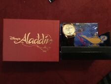 Limited Edition Disney Aladdin Gold Lamp watch New in Box 0323/5000