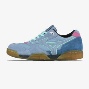 Mizuno Court Select Say Hello Unisex Sneakers Walking Outdoor Blue D1GD193021