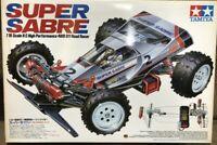 TAMIYA 1/10 RC Super Sabre 4WD Off Road Racing Buggy Model Kit 58066 from Japan
