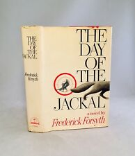 The Day Of The Jackal-Frederick Forsyth-SIGNED!!-First/1st Edition/3rd Printing