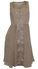 Mini-Damenkleider mit V-Ausschnitt aus Chiffon