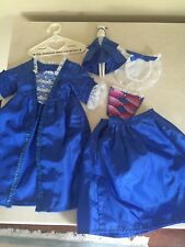 AMERICAN GIRL PLEASANT COMPANY FELICITY'S CHRISTMAS GOWN / DOLL STOMACHER 1991!