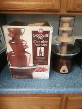 Wilton Chocolate Pro Chocolate Fountain - Chocolate Fondue Fountain, 4 lb.