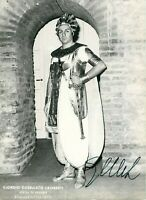 Opera - Autografo del tenore Giorgio Casellato Lamberti (Adria, 1938)