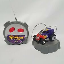 Tyco R/C Stuntsters Hot Rocker with Remote Control Purple with Flames 49MHz