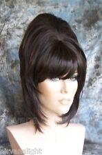 Med/Dark Brown High Cone Beehive 60's Style Womens/Mens Drag?  Wig