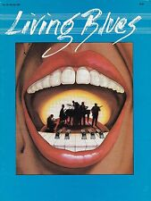 LIVING BLUES MAGAZINE NUMBER 58 WINTER 1983 FLOYD JONES JOHN LEE HOOKER