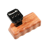 """CAMVATE Wooden Handle Grip Right 1/4"""" for GH Camera Cage DV Video Rig Stabilizer"""