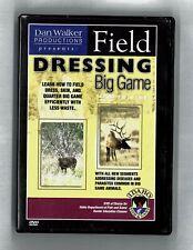 New listing Field Dressing Big Game Dvd, Dan Walker Productions, Idaho Dept Fish & Game 2005