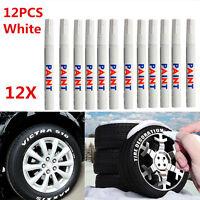 12 Reifen Stift Reifenmarker KFZ Motor Auto Reifenstift Weiß Marker.Beschriftung
